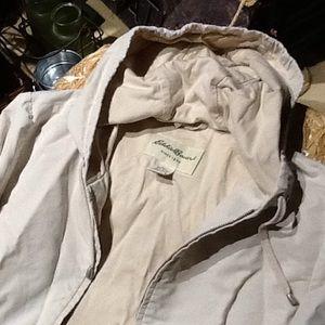 Eddie Bauer Full Zip Hoodie Jacket.